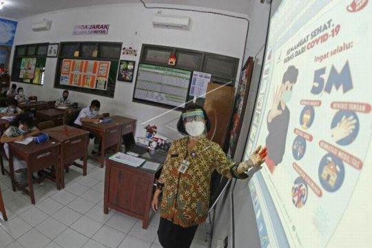 Simulasi pembelajaran tatap muka siswa SD