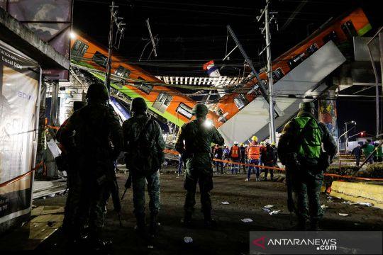 Kecelakaan kereta di Meksiko