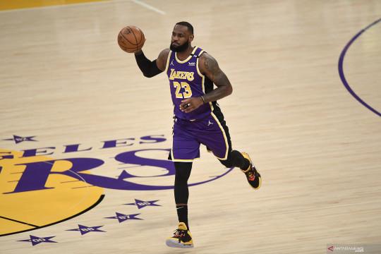 Lakers berharap LeBron James kembali bugar demi playoff NBA