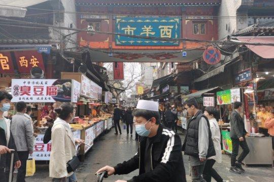 Menjelajahi surga kuliner halal di Xi'an China