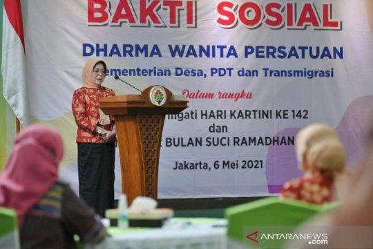 DWP Kemendes dukung keterlibatan perempuan dalam SDGs Desa