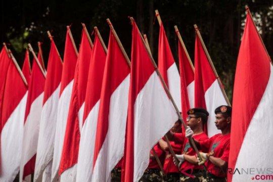 Survei: 95 persen responden setuju lagu Indonesia Raya di ruang publik