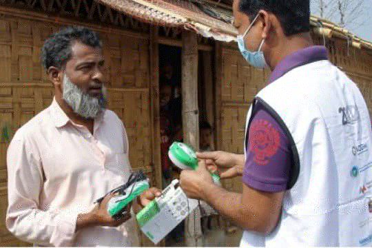 Beyond2020 pasang solusi pencahayaan di kamp pengungsi Bangladesh