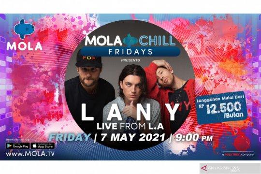 LANY siap obati rindu penggemar lewat Mola Chill Fridays