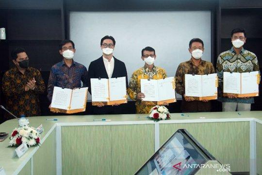 Konsorsium BUMN-LG teken perjanjian bangun industri baterai