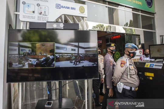 PN Jakarta Timur gelar sidang kasus kerumunan Rizieq Shihab siang ini