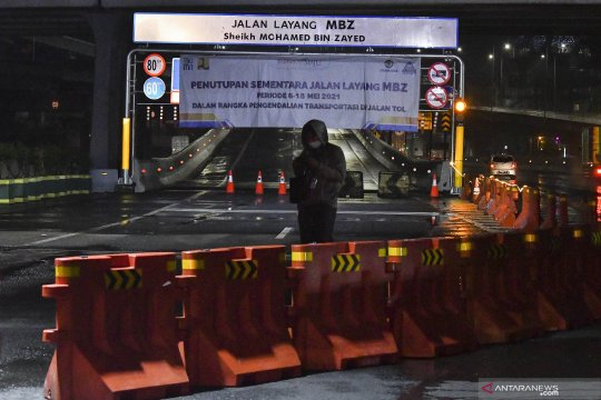 Polda Metro putar balik 1.070 kendaraan hari pertama larangan mudik