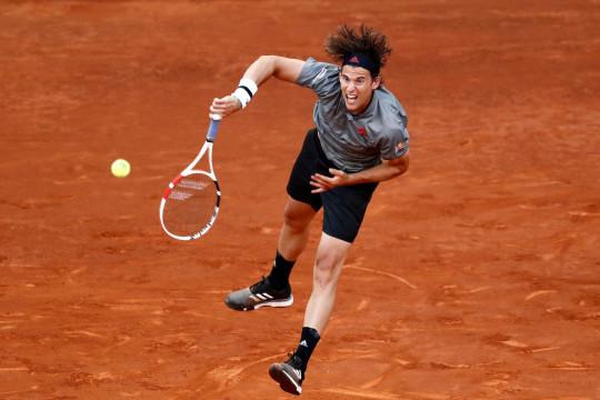 Thiem habiskan tenaga untuk lolos dari babak pembuka Italian Open
