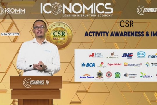 Lima bank BUMN raih Indonesia CSR Brand Equity Awards 2021