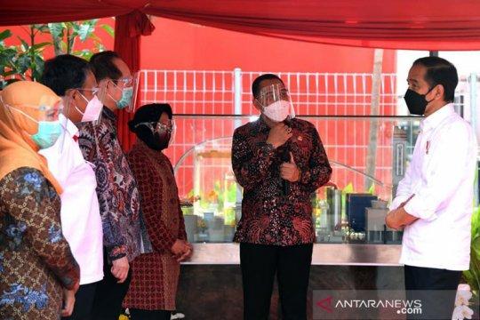 Kemarin, kunjungan Presiden ke Jatim hingga laporkan ASN nekat mudik