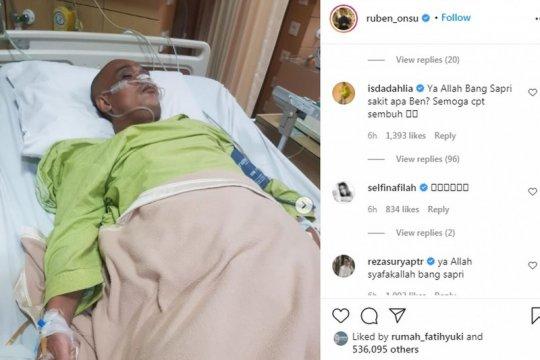 Sapri Pantun dilarikan ke ICU