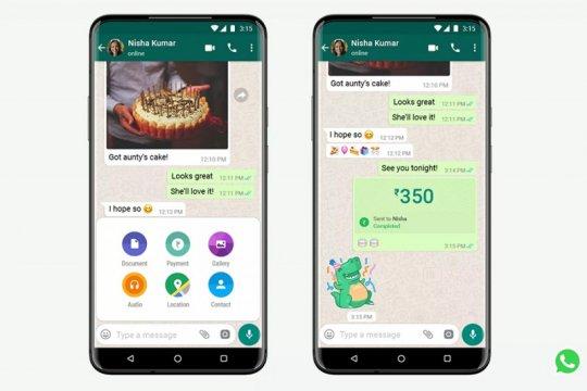 Kirim uang via WhatsApp bakal tersedia di banyak negara