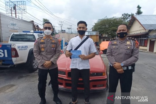 """Polisi amankan mobil """"drifting"""" berbahaya yang viral di Bukittinggi"""