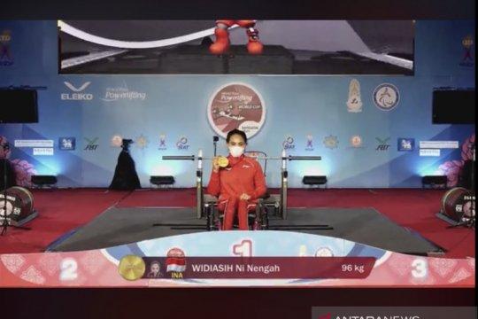 Ni Tengah Widiasih juarai World Para Powerlifting World Cup 2021