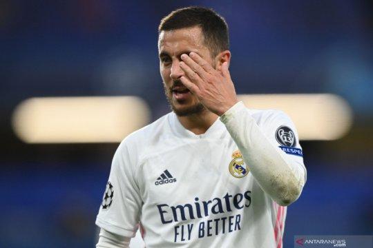 Tertawa setelah Real Madrid tersingkir, Eden Hazard minta maaf