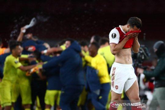 Liga Europa : Villareal melangkah ke final usai bermain 0-0 lawan Arsenal