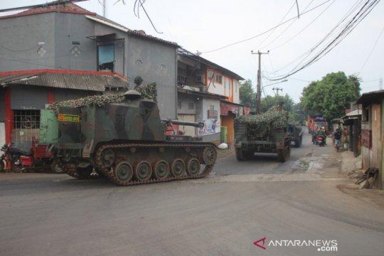 Kapendam Jaya jelaskan Tank Yonarmed sedang lakukan latihan