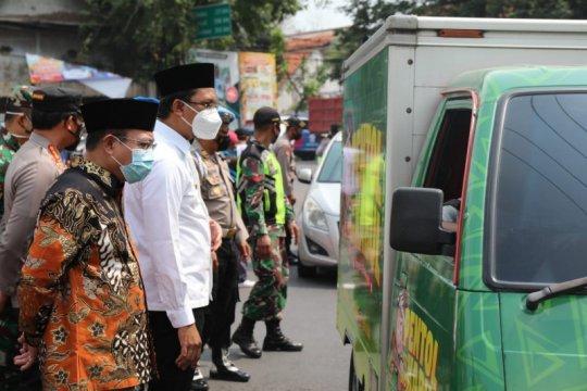 50 kendaraan luar Sidoarjo terpaksa putar balik saat penyekatan