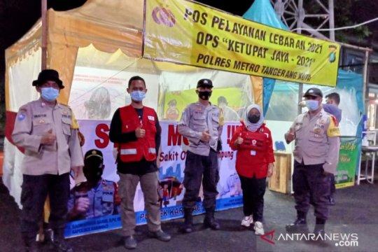 PMI Kota Tangerang siagakan motor respon di jalur penyekatan