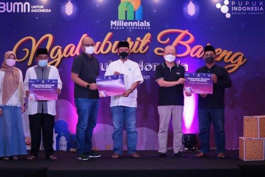 Pupuk Indonesia bagi 814 paket sembako untuk masyarakat jelang Lebaran