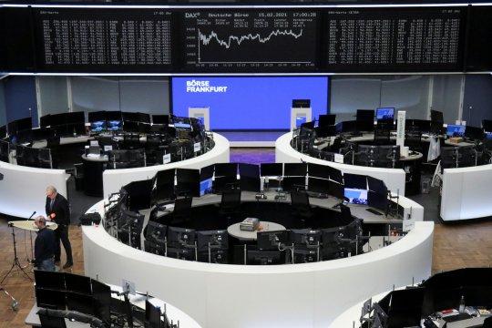 Saham Eropa cetak rekor tertinggi, terkerek Adidas dan ekonomi Jerman