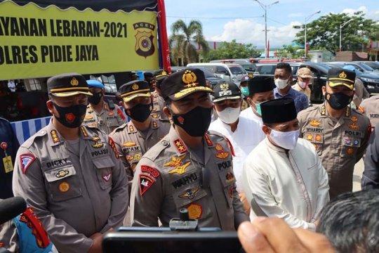 Kapolda Aceh ingatkan warga patuhi kebijakan pemerintah larang mudik