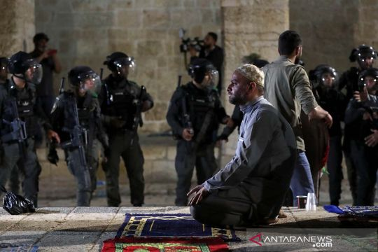AWG kecam kekerasan di Kompleks Masjid Al Aqsa