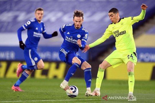 Liga Inggris: Newcastle United tumbangkan Leicester City 4-2