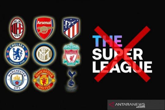 UEFA hanya hukum denda sembilan klub inisiator Liga Super Eropa