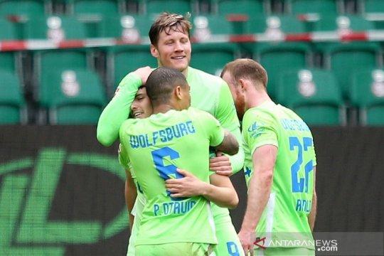 Wolfsburg jaga tiga besar, peluang Liga Champions Leverkusen habis