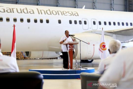Garuda Indonesia resmi jadi maskapai penerbangan kontingen Indonesia