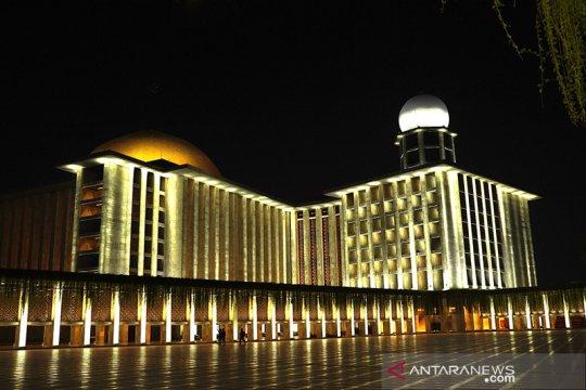 Zakat di Masjid Istiqlal didistribusikan ke yayasan/masjid