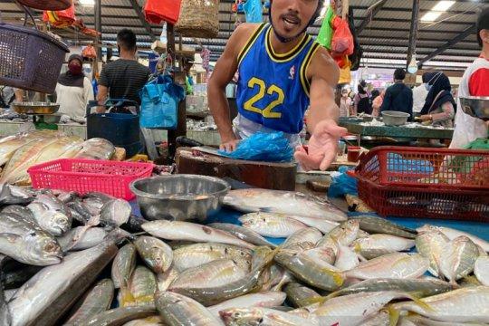 Tinggi permintaan ikan segar di  Tanjungpinang