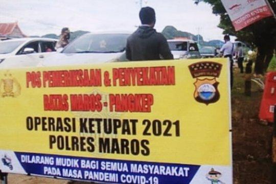 Pemudik di Makassar pilih jalur tikus hindari penyisiran petugas