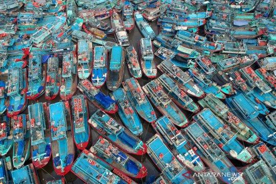 Nelayan libur melaut jelang lebaran