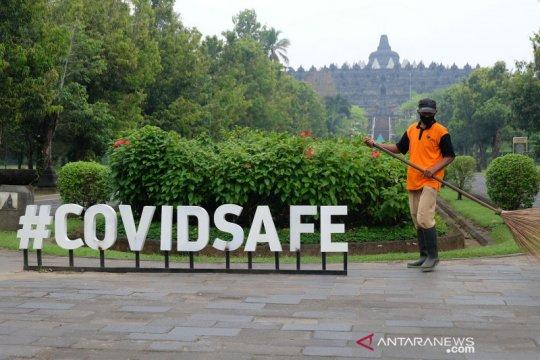 Penuhi syarat wisata sehat, wisatawan boleh masuk Borobudur-Prambanan