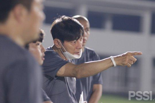 Shin Tae-yong ingin timnas menangi tiga laga Kualifikasi Piala Dunia