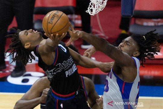 NBA : Philadelphia 76ers menang atas Detroit Pistons 118-104
