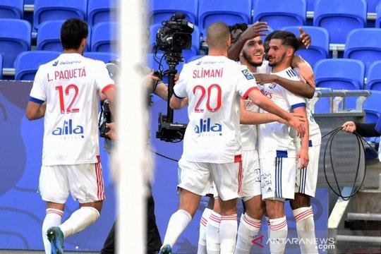 Lyon sodok tiga besar selepas hantam Lorient
