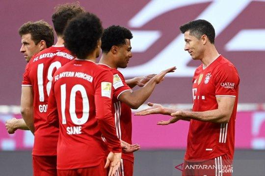 Bayern lengkapi pesta juara dengan kemenangan 6-0 atas Gladbach