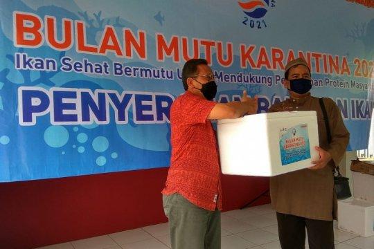 KKP-PIMTI bagikan ikan beku kepada penghuni lapas di Tangerang