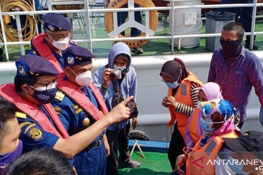 Patroli laut Tanjung Priok cegah nelayan mudik dengan kapal