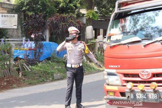 Satlantas Polres Sukabumi tindak  jasa travel gelap