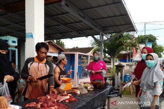 Jelang Lebaran, daging bercacing di Mukomuko-Bengkulu dipantau