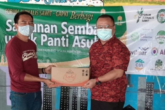 Industri sawit komitmen berkontribusi sosial di tengah pandemi