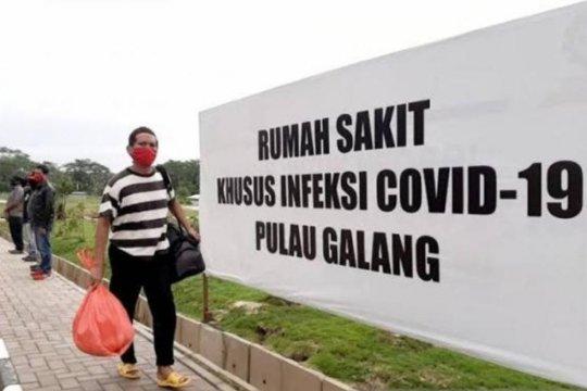 Ratusan PMI masih dirawat di RSKI Pulau Galang