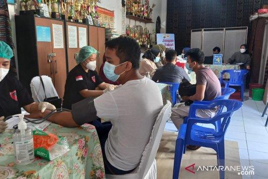 Polda Metro Jaya fasilitasi vaksin massal di lima titik Jakarta Pusat