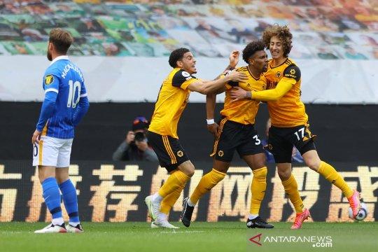 Liga Inggris: Wolverhampton  kalahkan  Brighton 2-1