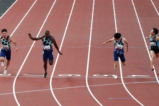 Justin Gatlin merasa aman ikuti uji coba Olimpiade Tokyo