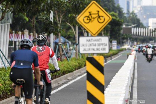 Sahroni dukung rencana Polda Metro Jaya tiadakan jalur sepeda permanen